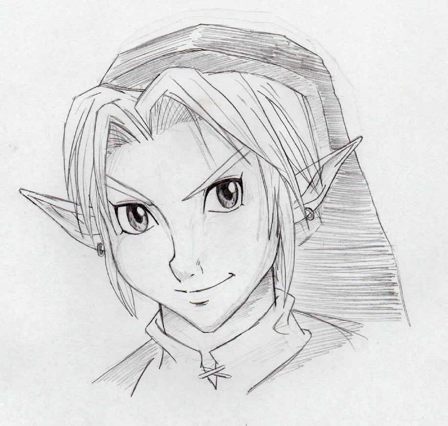 OoT Link - smile by zelda-Freak91