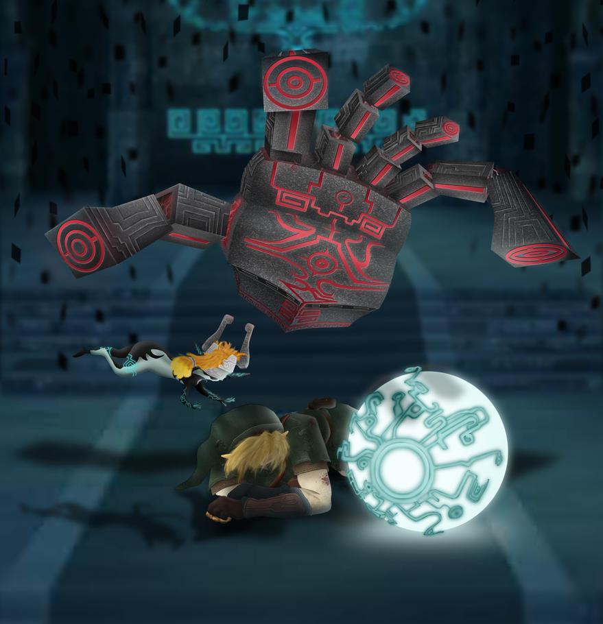 Link's Blacklist IV :  Zant's Hand by zelda-Freak91