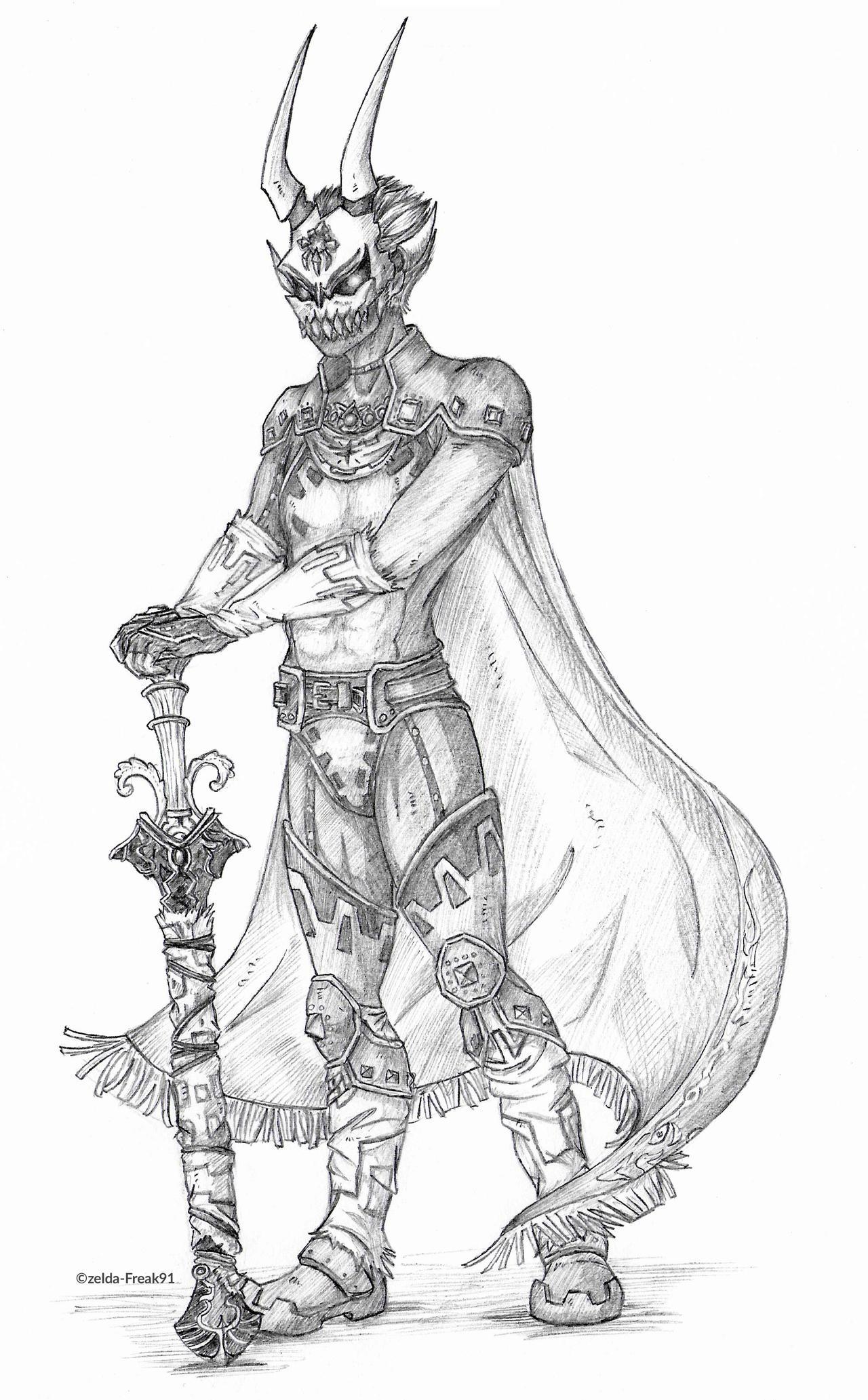 Phantom Ganon Armor By Zelda Freak91 On Deviantart