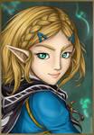 #sixfanart Zelda Special - Zelda