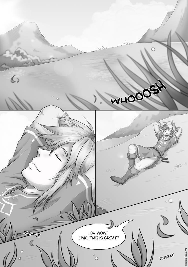 Zelda Comic: Sprout Of Hope - 1