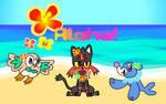 Aloha Pokemon Sun and Moon!