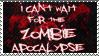 Zombie Apocalypse - Stamp