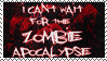 Zombie Apocalypse - Stamp by little-misanthrope