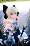 Saber Lily Cosplay (Armor) II.