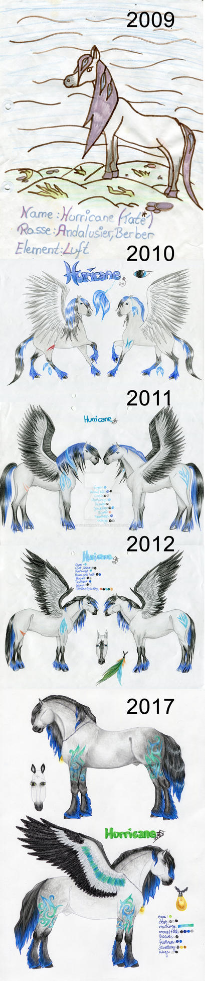 The Evolution of Hurricane by TheShiranja