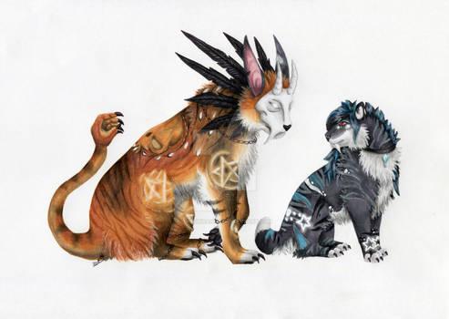 Aria and Tora