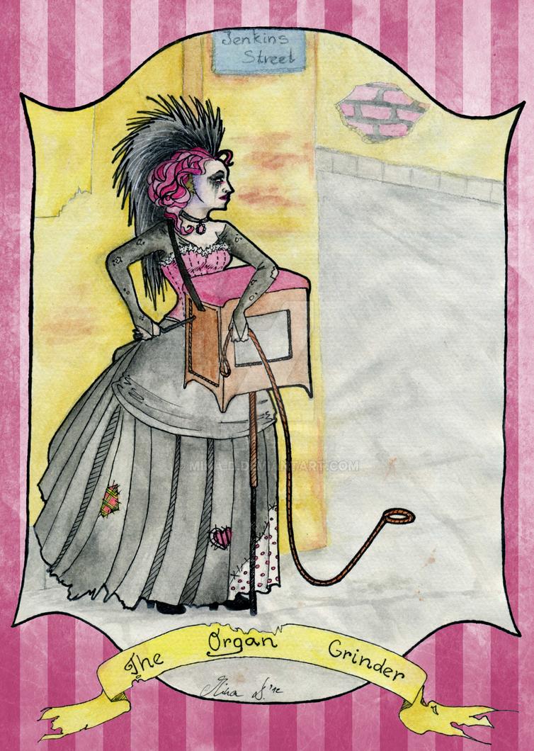 Trade: The Organ Grinder by mina-D