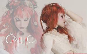 Emilie Autumn Wallpaper: Opheliac I. by mina-D