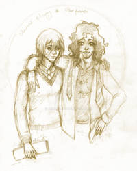 Messrs Moony and Padfoot