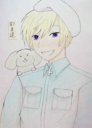 Aph Finland and Hanatamago by WasabiMonster28