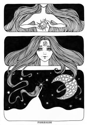 lights the stars by Paskhalidi