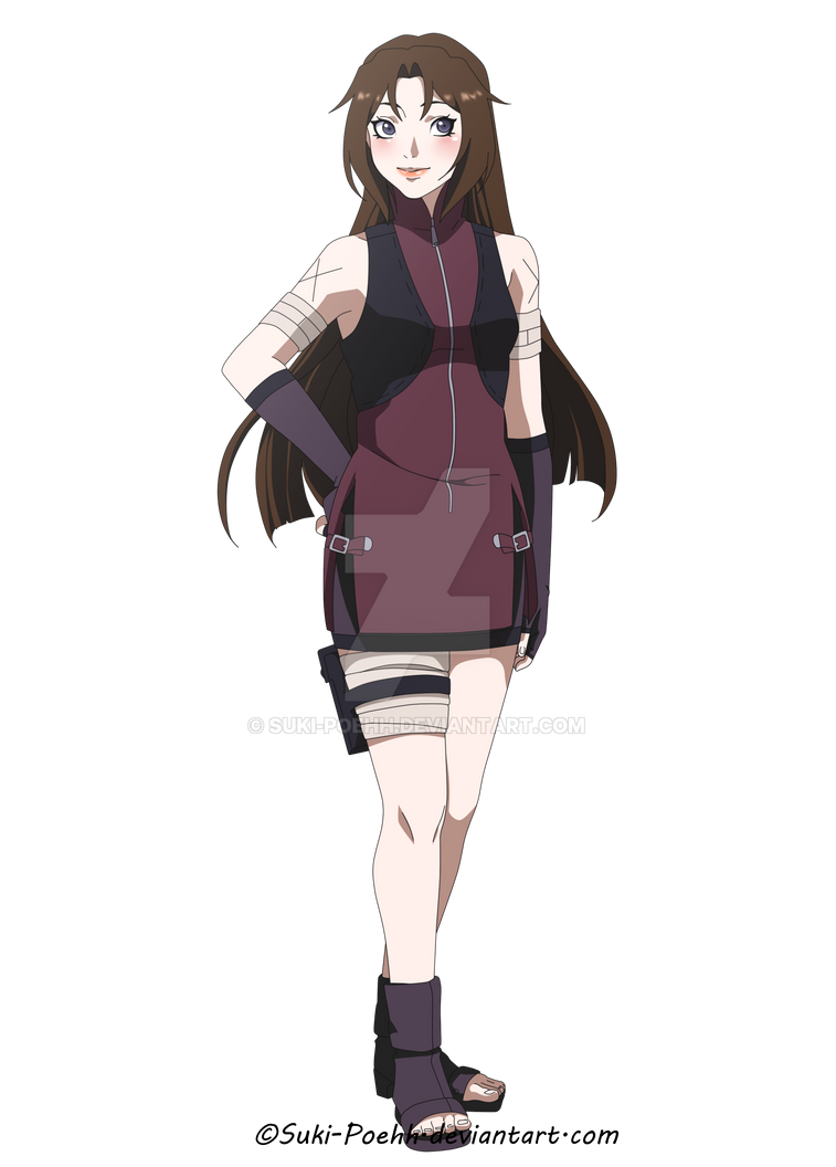 Naruto OC - Miyuri Koizumi. by Suki-Poehh