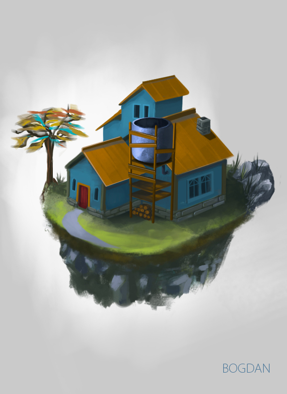 Game Assets -House by bungyx