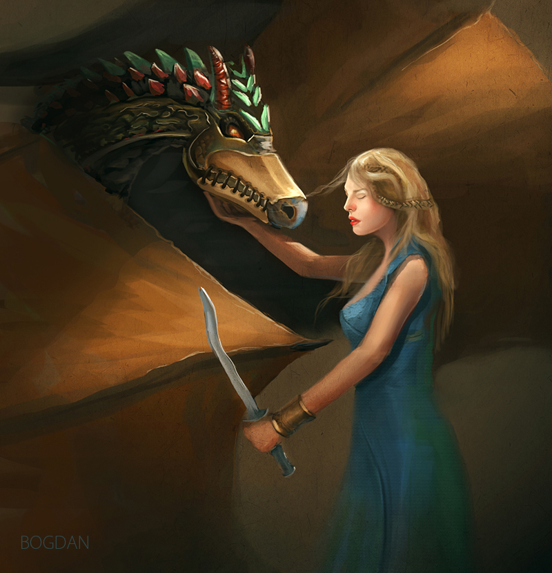 Game Of Thrones Fan Art by bungyx