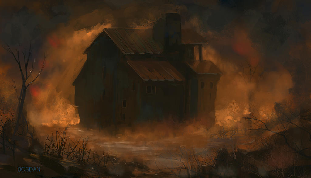 The Old Haunted House by bungyx