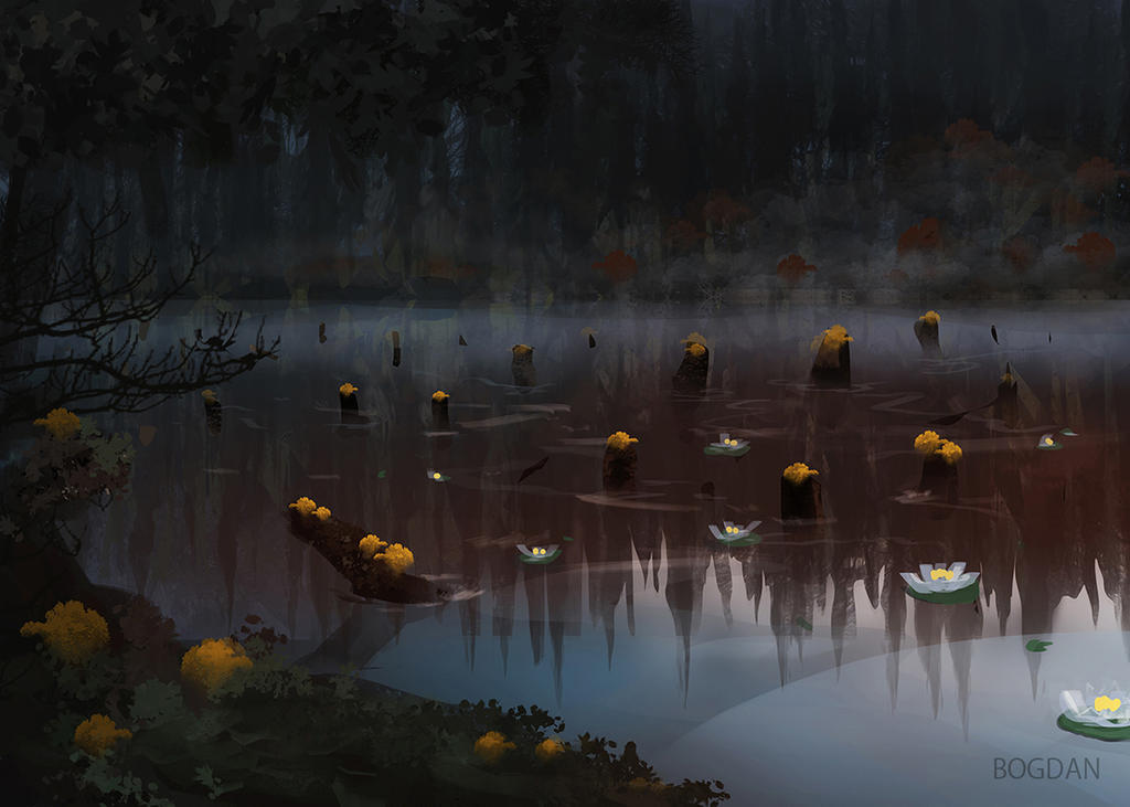 The Red Lake by bungyx