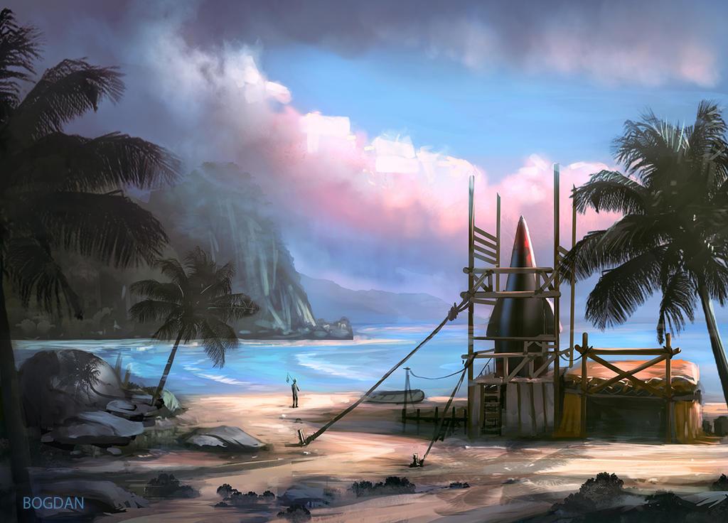Island isolation by bungyx