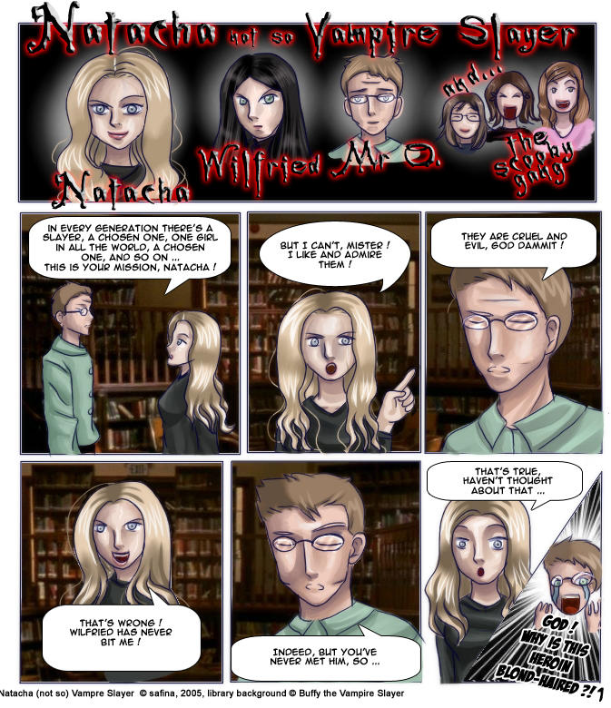 Nat not so vampire slayer p.1 by Odhana