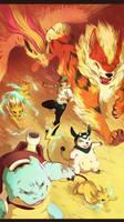 Pokemon Team Go! by malikaa
