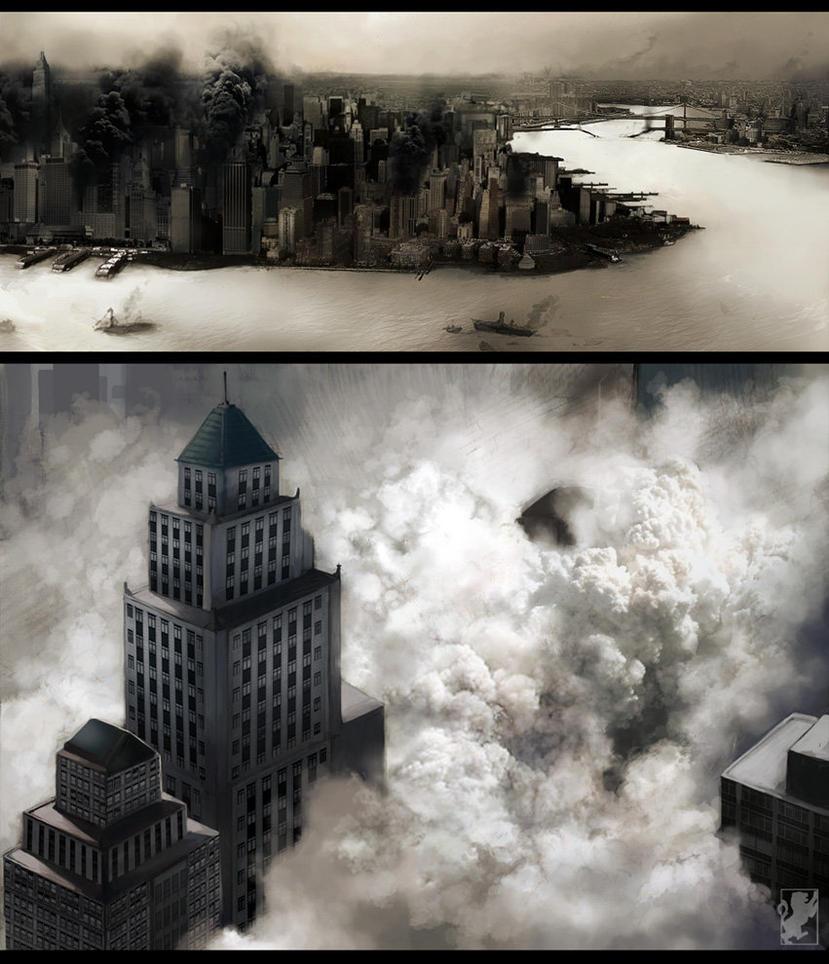 Manhattan - Lucky-Strike by malikaa
