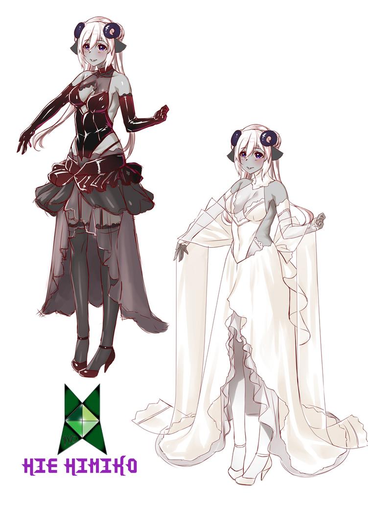 Yana Wedding Dresses WIP by JittWolfProductions