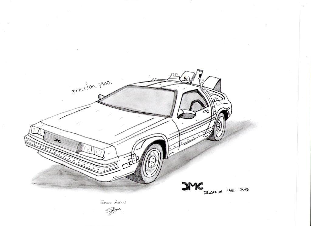 time machine drawing