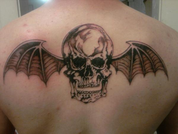 My Avenged Sevenfold tattoo by ~Frkikes on deviantART