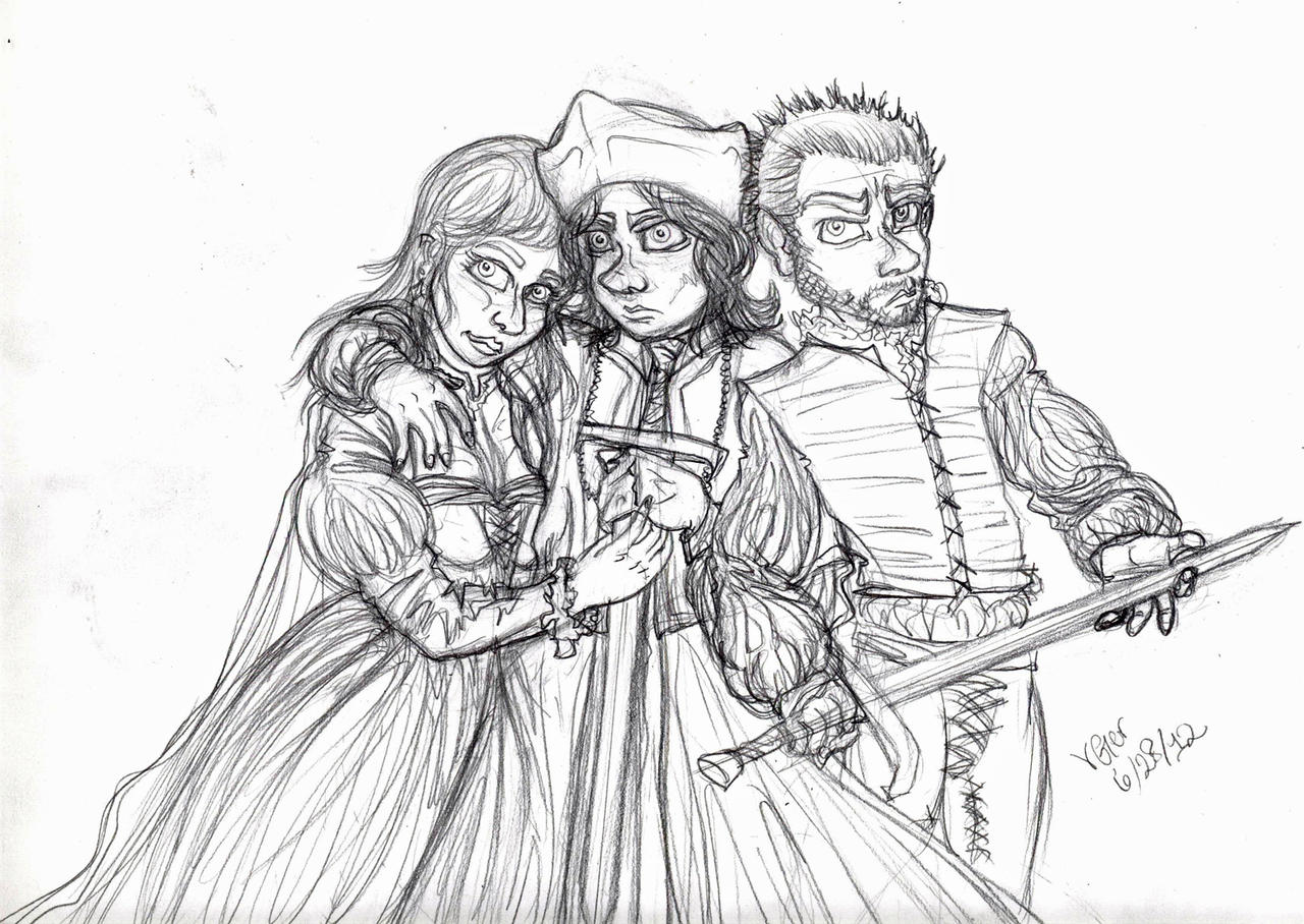 Almost-Borgia Siblings by VenGethenian