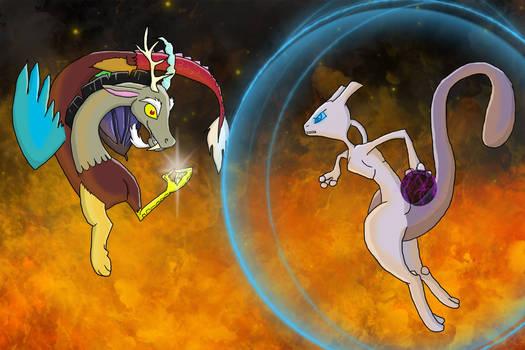 Mewtwo vs Discord