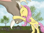 That's love for you. Discord and Fluttershy. Redo