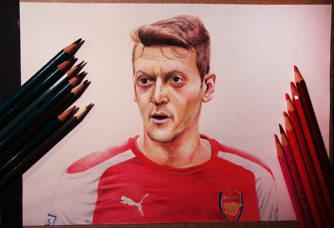 Mesut Ozil By Gutter1333 On DeviantArt