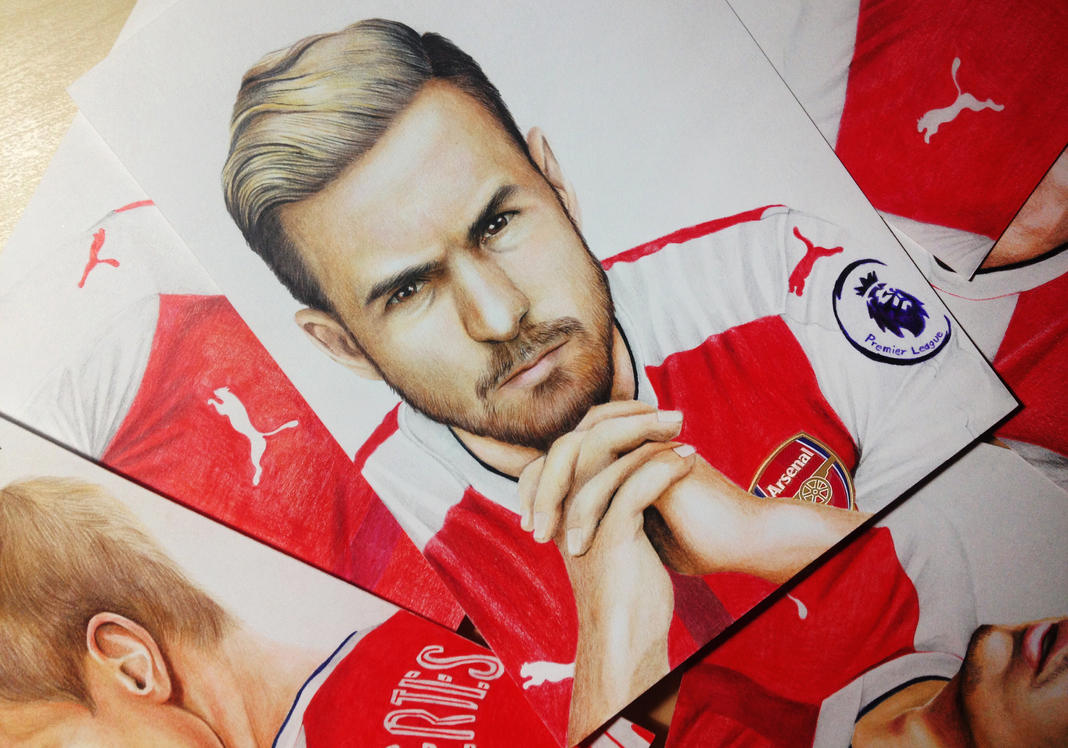 Aaron James Ramsey by Gutter1333