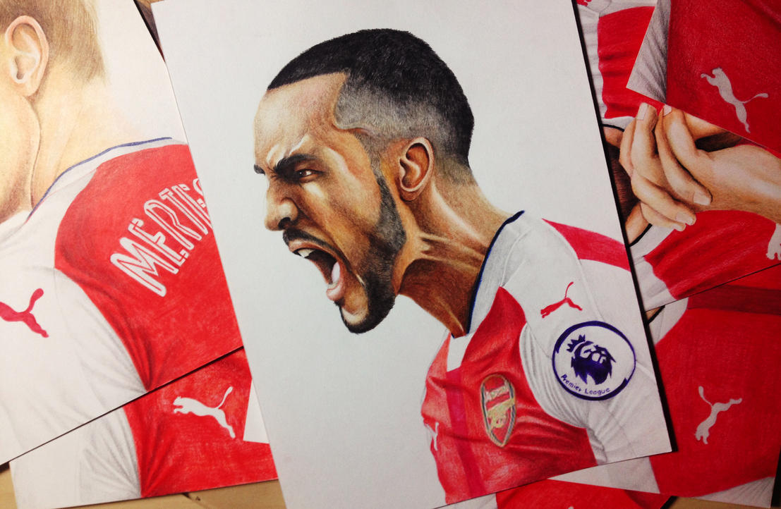 Theo James Walcott by Gutter1333