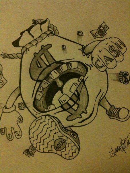 Moneybag monster Tattoo by Carbun on DeviantArt