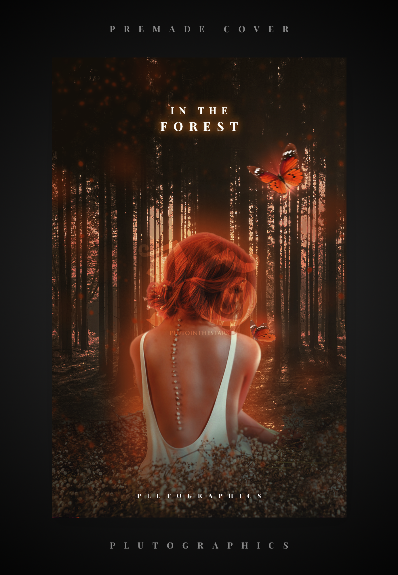 In The Forest - Premade Wattpad Cover