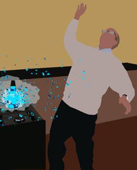 Lava lamp explodingARGHHH