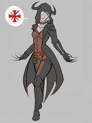 FanArt - Shiya, the Assassin by Shiya-san