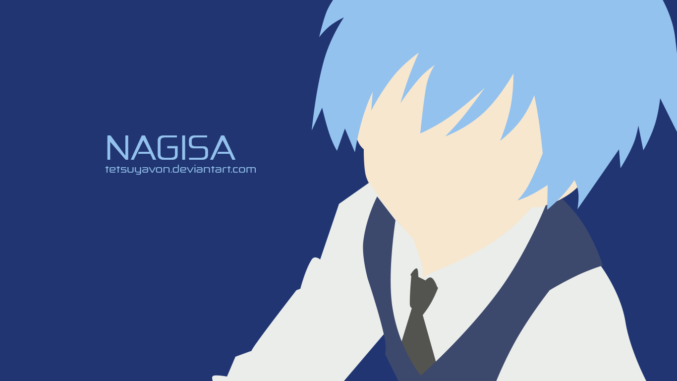 Assassination Classroom Minimalist Wallpaper ~ Nagisa minimalist by tetsuyavon on deviantart