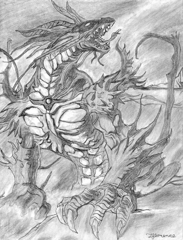 evil dragon by MetaDragonArt on DeviantArt