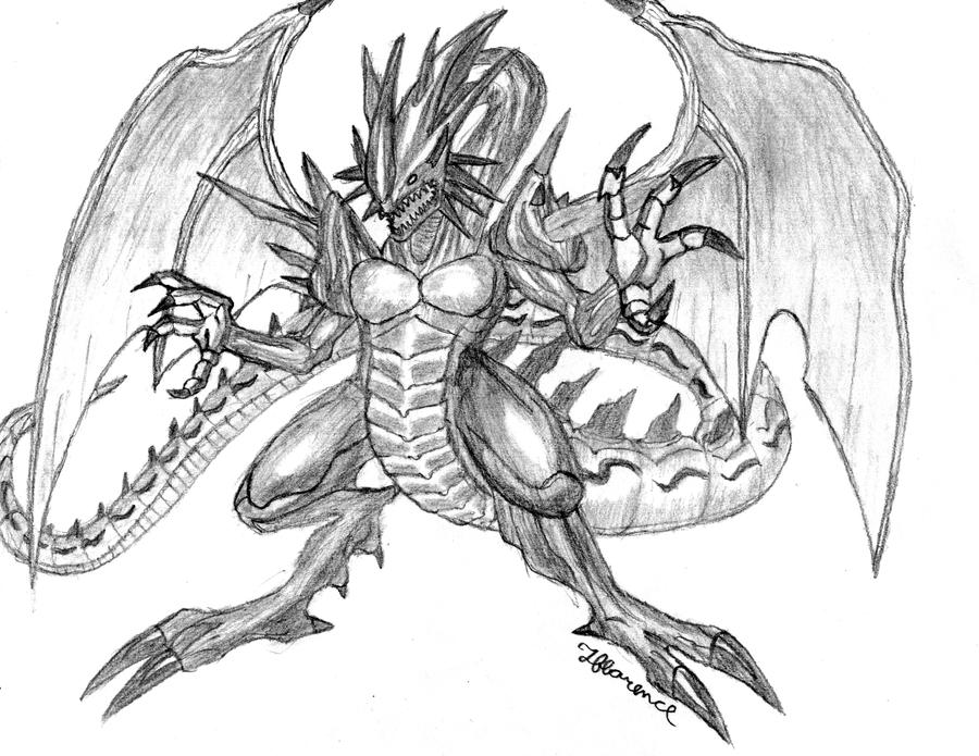 demon dragon by MetaDragonArt on DeviantArt