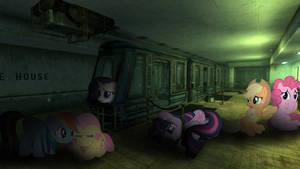 refuge for the night by MetaDragonArt