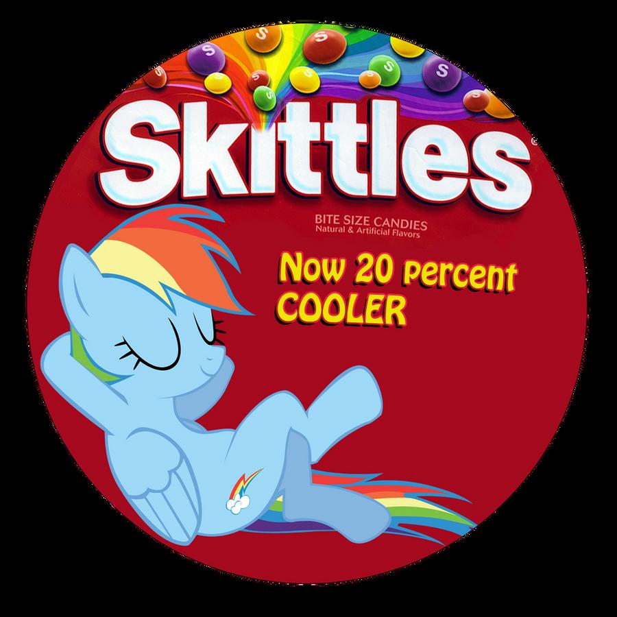 Skittles. now 20 percent cooler by MetaDragonArt on DeviantArt