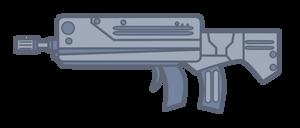 MLP FIM - Lost Equestria: assault rifle