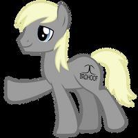 BROHOOF pony by MetaDragonArt