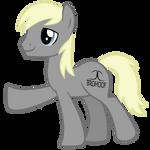BROHOOF pony