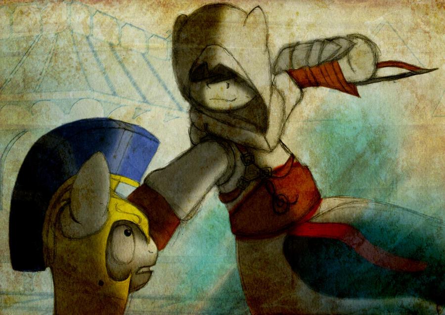 Octavia's Creed - The Kill by MetaDragonArt