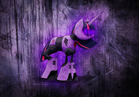 10 volt sparkle (robo twilight) by MetaDragonArt
