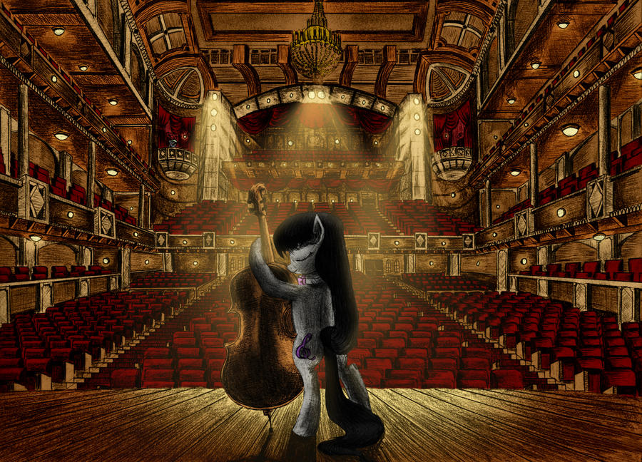 Love of the Stage by MetaDragonArt