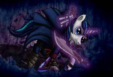 Pony May Cry - Shining Armor by MetaDragonArt